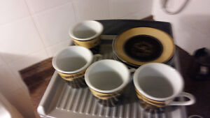 Espresso cups and saucers Windsor Region Ontario image 2