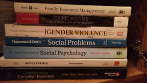 UPEI Textbooks: Psychology, Sociology and Others