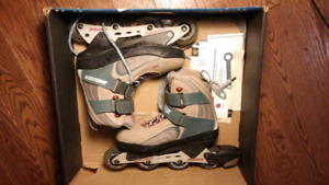 Used Bauer Women's Rollerblades, size 9