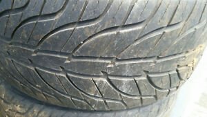 245/40R18 General GT G-Max tires and E39 BMW Rims