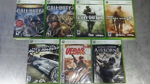 13 XBOX 360 GAMES, STEEP FOR PS4, FOR HONOR XBOX, LADY DEATH