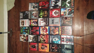 dvds and blu rays