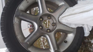 4 New Winter Tires with Rims $450 OBO