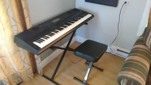 Casio WK-6500 Keyboard, Bench and Stand