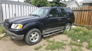 2002 Ford Explorer (Needs work!)