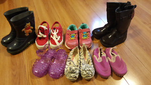 Girls Shoes and Boots Size 6T