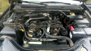 2008 Jeep Sprinter Mercedes  Diesel Motor