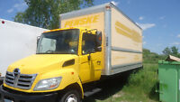 2007 HINO 185- 18FT BOX- DIESEL - DOCK LEVEL - LOW KM