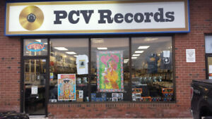 Vinyl Records,  Cds, books, t shirts and much more