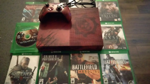 Xbox One S 2TB Limited Edition Gears of War Bundle