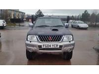 2004 MITSUBISHI L200 Animal 4WD 113Bhp 1 owner No Vat New Engine