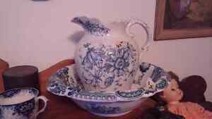 Antique Flow blue / Wedgewood many other assorted China Kingston Kingston Area image 2