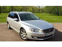 Volvo V70 2.4TD D5 ( 215bhp ) Geartronic 2015MY SE Lux SILVER METALLIC