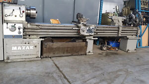 Lathe Metal 22 x 120 with accessory 220/440 volt