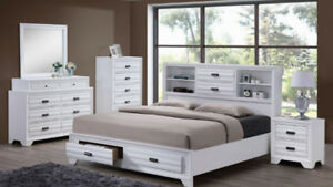 WAREHOUSE CLEARANCE -WHITE BED ONLY