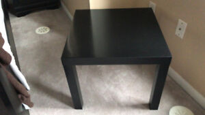 Ikea lack side tables- Black