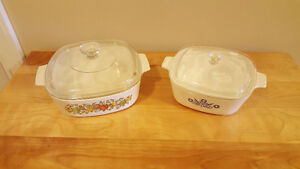 Assorted Corningware Casserole / Cooking Dishes