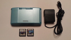 Original Nintendo DS (Phat) Teal with Charger
