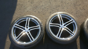 19 inch rims with Pirelli tires 245 40r19