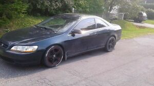 "Accord coupe 98 moteur 145000km 2.3 vtec mags 16"" 1000$ Nego"