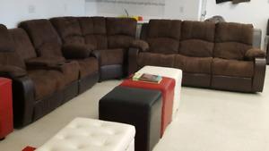Huge savings on sofa sets, Saturday and Sunday