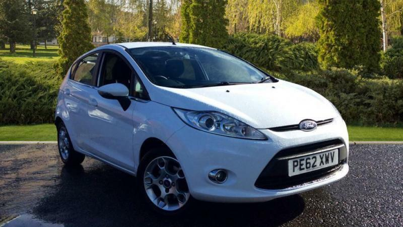 2012 Ford Fiesta 1.4 TDCi (70) Zetec 5dr Manual Diesel Hatchback