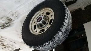 stock gm wheels and blizzak tires