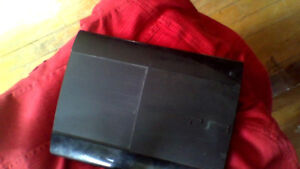 PS3 console only with wires and controller