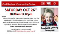 Halloween Carnival and Ghostly Graveyard @ CHCC