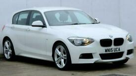 image for 2015 BMW 1 Series 125d M Sport 3dr Hatchback diesel Manual
