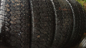 LT245/75R17 goodyear m/s tires