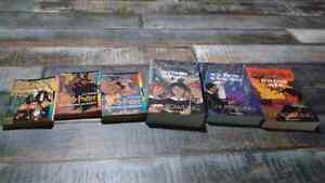 Lot de livres harry potter de 1 à 6