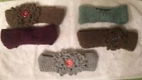 Homemade knitted items