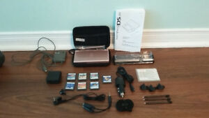 Like New - Nintendo DS + 7 Games + Accessories Pack