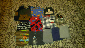 12-18 month boy winter lot