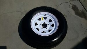 BRAND NEW RIM AND TIRE FOR TRAILER