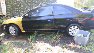 2001 civic parts car
