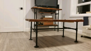 Custom TV Stand & Matching Coffee Table
