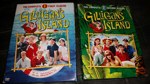 Gilligan's Island the complete first ..second only $20 for both