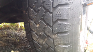 235 75 15 and 205 70 15 snow tires