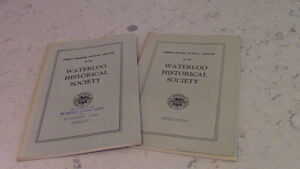 48th,49th, Annual Volume of Waterloo Historical Society,1960, 61 Kitchener / Waterloo Kitchener Area image 1