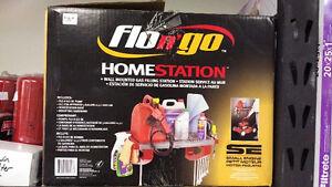 Flo n' Go Home Station   -   Garage Gas pump & storage shelf