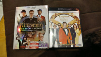 Digital copies of kingsmen 1 & 2