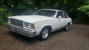 1978 Chevrolet Malibu V8 Coupe (2 door)