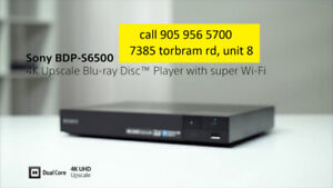 Sony 4K Upscale Blu-ray Player with built-in Wi-Fi BDPS6500​