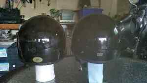 2 Solid Glossy Half Helmets  25.00 each or sold at 40.00 for set Cambridge Kitchener Area image 2