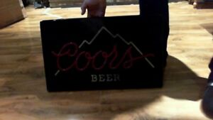 Coors Light beer light