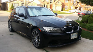 2009 BMW 3-Series BLACK Sedan