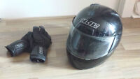 HJC C11 Motorcycle Helmet for Sale - Size XL - Free Gloves