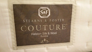 Brand NEW Stearns and Foster King mattress